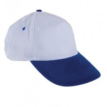 Beyaz Saks Mavi  Şapka