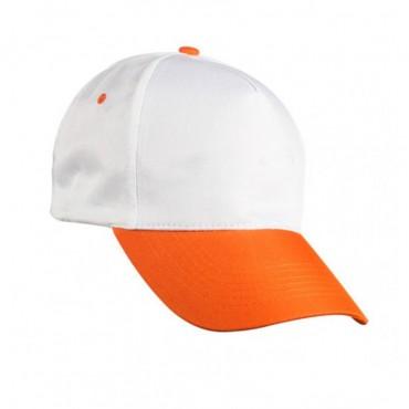 Beyaz Turuncu Şapka