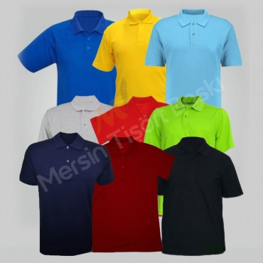 Polo Yaka Tişört Baskı